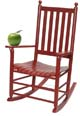 An apple a day, the rocking chair way!